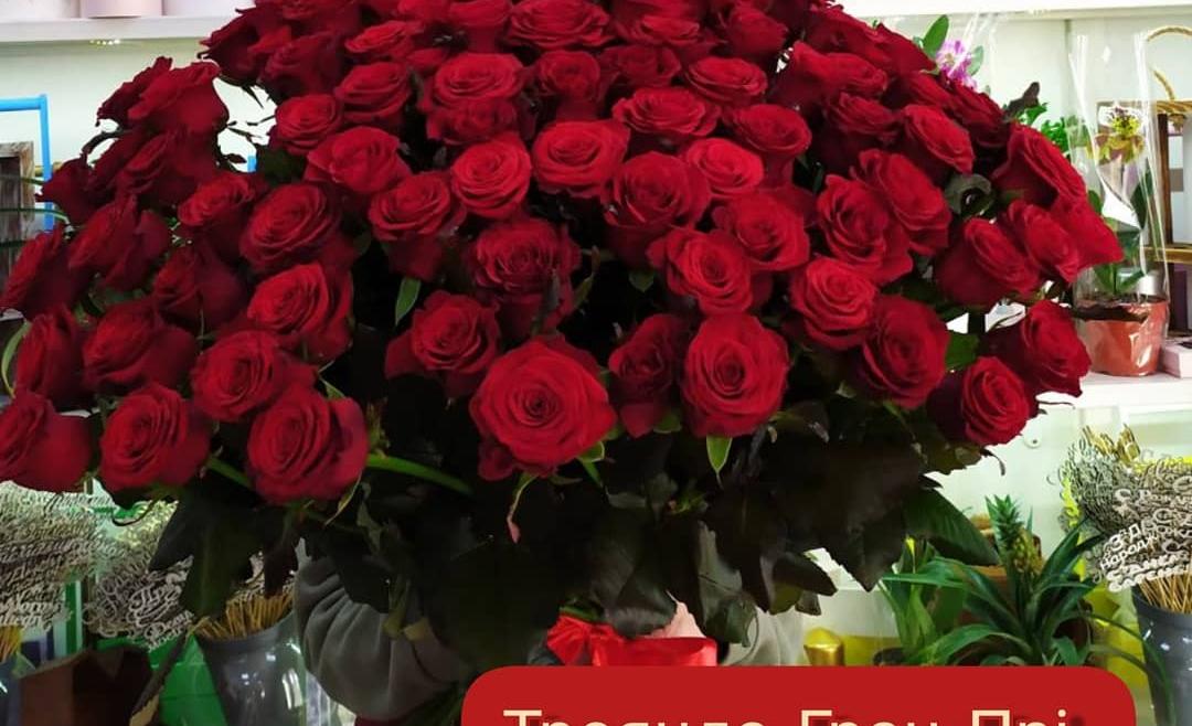 Акційна ціна на троянду сорту «Гран Прі»